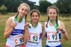 U15 Girls Silver Medals