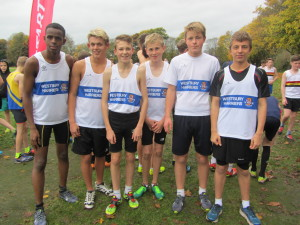 From left to right: Abdi Hasan, Ben Rawlins, Aidan Noble, Greg Hayward, Freddie Livesey and Sam Hopkins