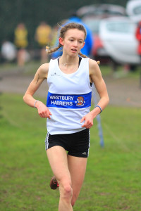 Ellie Wallace took gold in the U17/U20 race