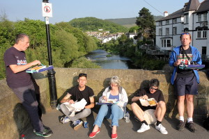 Llangollen is a great place to stop and refuel on fish and chips